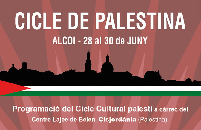 Cartell Cicle Cultural Palestina